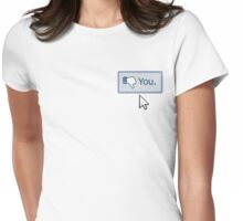 Dislike You Womens Fitted T-Shirt