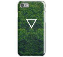 Geometric // Dense Forest iPhone Case/Skin