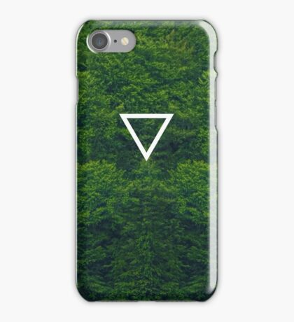 Geometric // Dense Forest iPhone Case/Skin