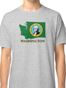 Washington state flag Classic T-Shirt
