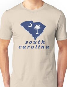 south carolina flag Unisex T-Shirt