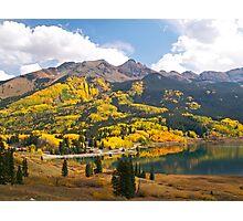 Autumn Colours at Trout Lake Photographic Print