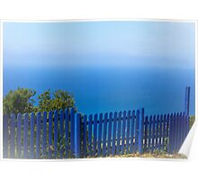 The Blue Fence Poster