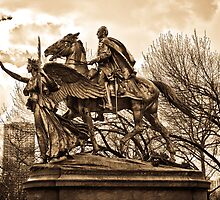 Grand Army Monument - New York City by alkindus