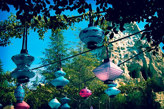tea party lanterns by Jessica Fredrikson