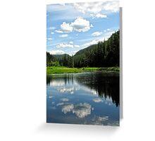 Reflected Serenity Greeting Card