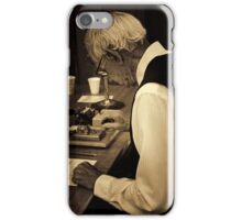 The Morse Code Technician iPhone Case/Skin