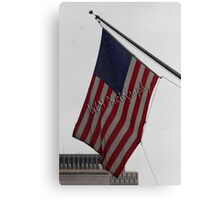 OL' GLORY - FLAG U.S.A. Canvas Print