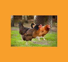 brown Rhode Island Red hens Unisex T-Shirt