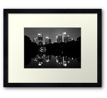Piedmont Skyscrapers Framed Print