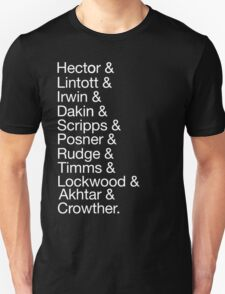 The History Boys Unisex T-Shirt