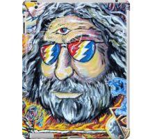 "Jerry Garcia Grateful Dead ""Move me brightly"" iPad Case/Skin"