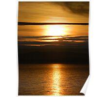 Golden Sunrise -  Derwent River, TAS :) Poster