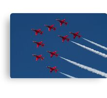 Red Arrows ! Canvas Print