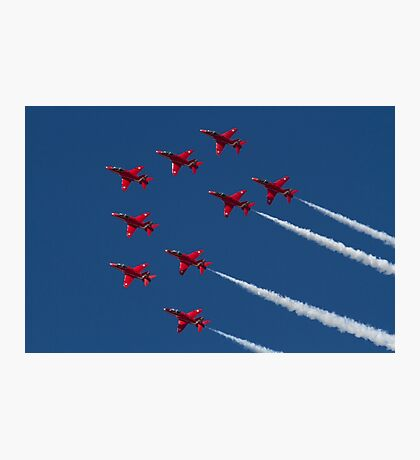 Red Arrows ! Photographic Print