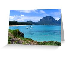 Lord Howe Greeting Card