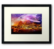Gods in Chariots? Framed Print