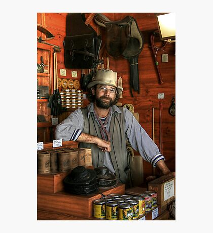 The Saddler at Sovereign Hill Photographic Print