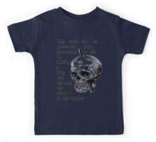 Driving A Long Nail Through The Skull Of A Corpse Kids Tee