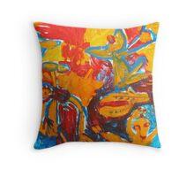 colour of life Throw Pillow