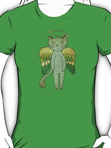 Do good cats go to heaven? T-Shirt
