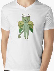 Do good cats go to heaven? Mens V-Neck T-Shirt