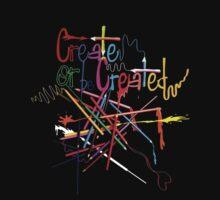 Create or be created Kids Tee