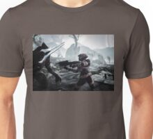The moment the soldier has prepared for.. Unisex T-Shirt