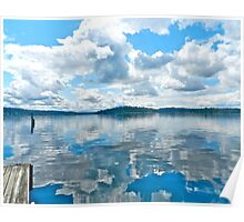 Sunny Seattle...Mercer Island Washington Poster
