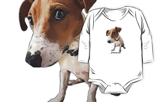 Hugo Jack Russell Terrier for Kids Clothes by JRTrescue