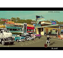 The Motel Photographic Print