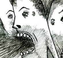 scream Sticker