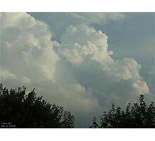 Cumulonimbus 14 Photographic Print