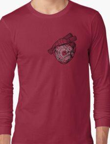 Digital Heart (Black) Long Sleeve T-Shirt