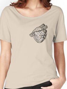 Digital Heart (Black) Women's Relaxed Fit T-Shirt