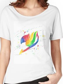 """Rainbow Fairy"". Women's Relaxed Fit T-Shirt"