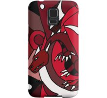 Awesome Red Dragon Abstract Art Original Design Samsung Galaxy Case/Skin