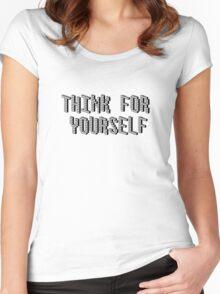 Geek Smart Cool T-Shirt Women's Fitted Scoop T-Shirt