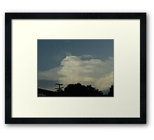 Supercell 3 Framed Print