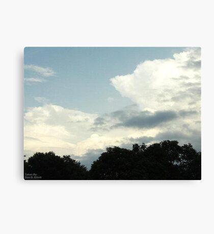 Cumulonimbus 80 Canvas Print