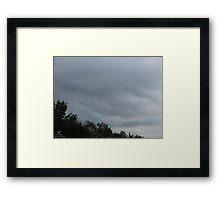 Cumulonimbus 95 Framed Print