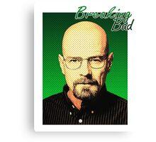 Breaking Bad - Pop-Art Heisenberg Canvas Print