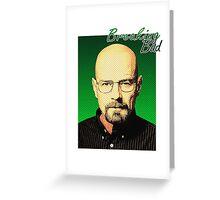 Breaking Bad - Pop-Art Heisenberg Greeting Card
