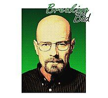 Breaking Bad - Pop-Art Heisenberg Photographic Print