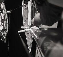 Gretel II—Mast by Brett Rogers