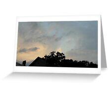 Cumulonimbus 120 Greeting Card