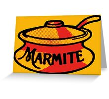 Marmite pot Greeting Card