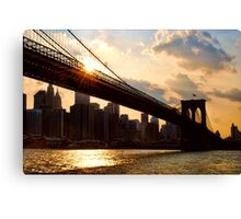 NYC, New York City, USA Canvas Print