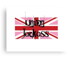 Union Jackass Canvas Print