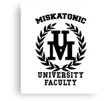 Miskatonic Faculty Canvas Print